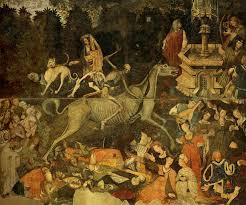 File:Trionfo della morte, già a palazzo sclafani, galleria regionale di  Palazzo Abbatellis, palermo (1446) , affresco staccato.jpg - Wikipedia